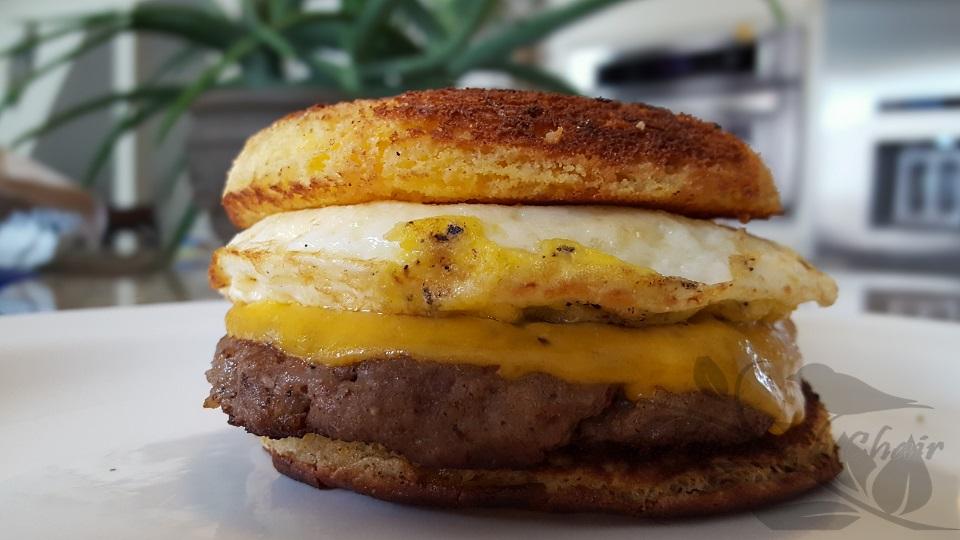 Easy Breakfast Sandwich on the Best Keto Quick Bread ...